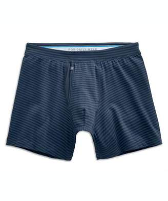 Mack Weldon MACK WELDON SILVER BOXER BRIEF IN TRUE NAVY