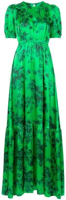 No.21 floral print maxi dress