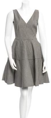 No.21 No. 21 Sleeveless Gingham Dress w/ Tags