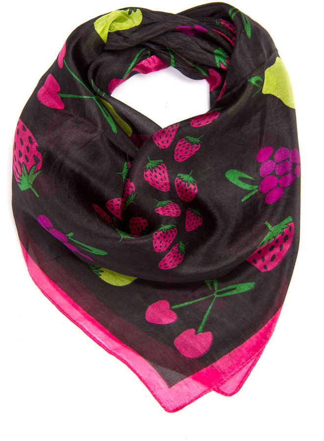 MANGO TOUCH - Silk scarf