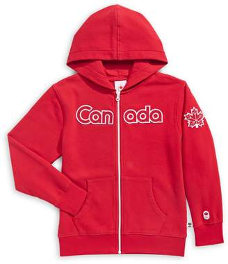 Canadian Olympic Team Collection Little Boy's Canada Full-Zip Hoodie