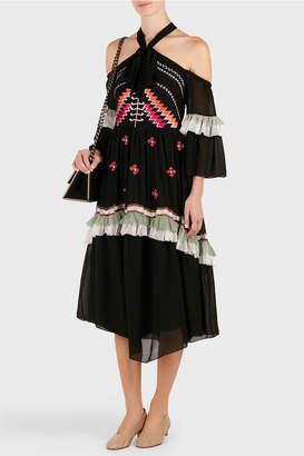 Temperley London Traveller Off Shoulder Dress