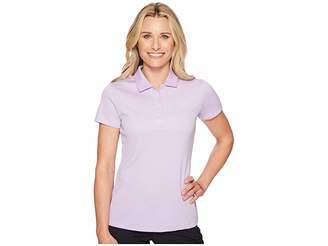 Puma Jacquard Polo Women's Short Sleeve Pullover