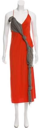 Edun Draped Maxi Dress