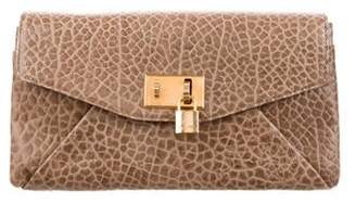 Marc Jacobs Garbo Leather Clutch