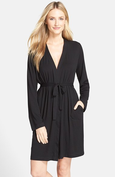 DKNY Women's Dkny 'City Essentials' Short Robe