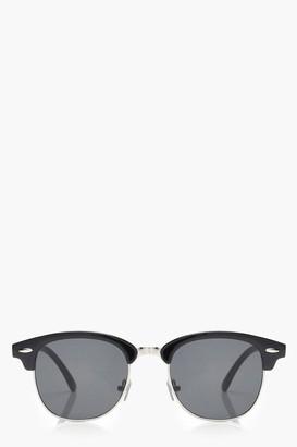 boohoo Retro Frame Sunglasses