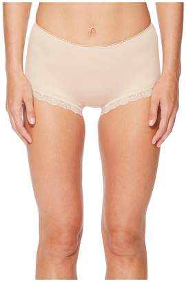 Hanky Panky Cotton Shirred Back Panty Women's Underwear