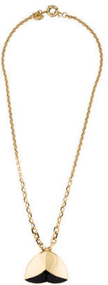 Giles & Brother Nara Single Tier Pendant Necklace $75 thestylecure.com