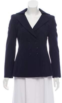 Akris Double-Breasted Wool Blazer