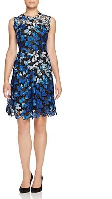 Elie Tahari Kaisa Floral Lace Dress $498 thestylecure.com