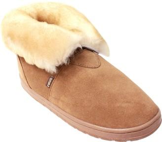 Lamo Doubleface Sheepkin Bootie Slippers