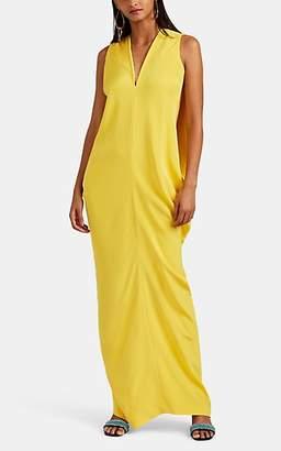 Zero Maria Cornejo Women's Libe Silk Gown - Smile Yellow