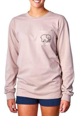 Ivory Ella Moonlight Pigment-Dyed T-Shirt