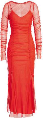 Diane von Furstenberg Maxi Fitted Lace Dress