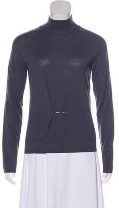 Gucci Long Sleeve Virgin Wool Sweater