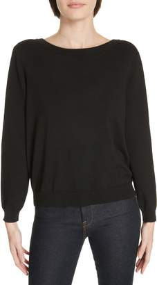 BA&SH Dolina Embellished Back Sweater