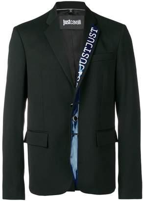 Just Cavalli branded detail blazer