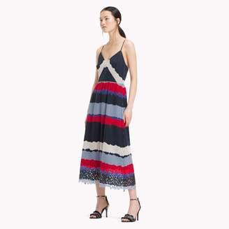 Tommy Hilfiger Laser Cut Midi Dress