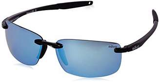 Revo Descend N RE 4059 01 BL Polarized Rectangular Sunglasses