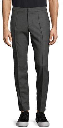 Ermenegildo Zegna Striped Flannel Wool Pants