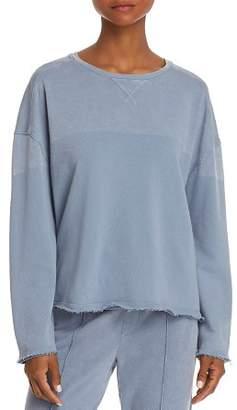 ATM Anthony Thomas Melillo Chroma Distressed Sweatshirt