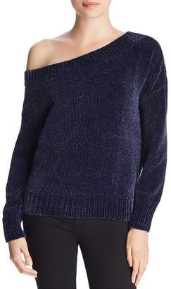 Three Dots Chenille Off-the-Shoulder Sweater