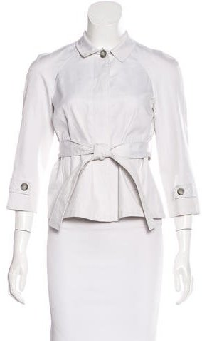 Miu Miu Miu Miu Belted Trench Jacket