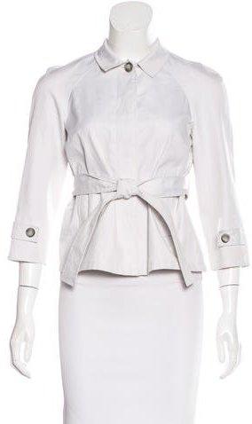 Miu MiuMiu Miu Belted Trench Jacket