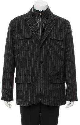 Michael Kors Wool Button-Up Jacket