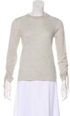 Veronica Beard Merino Wool Rib Knit Sweater