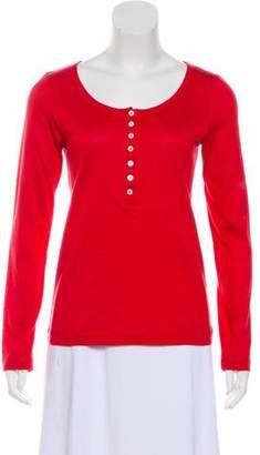 Loro Piana Knit Long-Sleeve T-Shirt