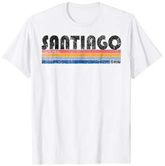 Vintage 1980s Style Santiago Chili T-Shirt