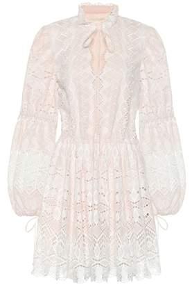 Jonathan Simkhai Broderie anglaise cotton dress