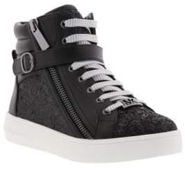MICHAEL Michael Kors MICHAEL by Michael Kors Baby Ivy Glitter High Top Sneaker