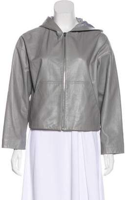 Alexander Wang Hooded Pouch Pocket Jacket