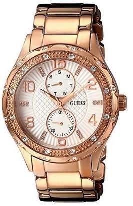 GUESS U0442L3 39mm Gold Steel Bracelet & Case Mineral Women's Watch