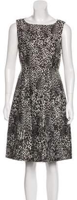 Max Mara Sleeveless Printed Dress