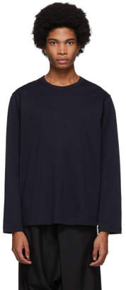 Comme des Garcons Navy Forever Long Sleeve T-Shirt