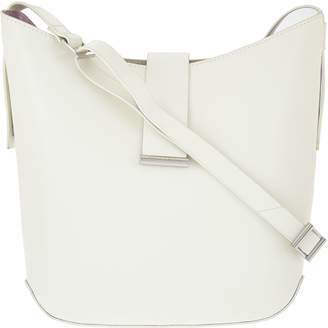 Halston H By H by Double Face Leather Crossbody Handbag