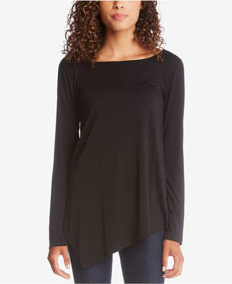 Karen Kane Cross-Back Asymmetrical Top
