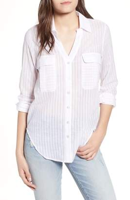 Ten Sixty Sherman Shadow Stripe Shirt