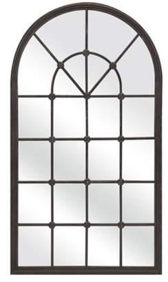 """Imax 50"""" Large Oversized Bartholomew Architectural Window Shaped Wall Mirror"""