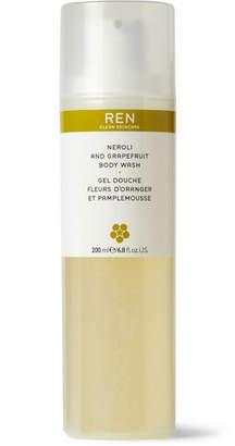 Ren Skincare Neroli And Grapefruit Body Wash, 200ml