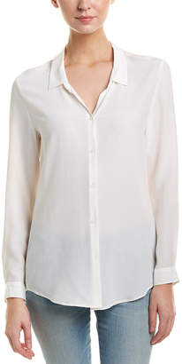 The Kooples Classic Silk Top