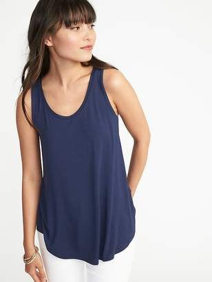 Old Navy Luxe Swing Tank for Women