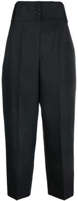 Valentino high waist tapered trousers