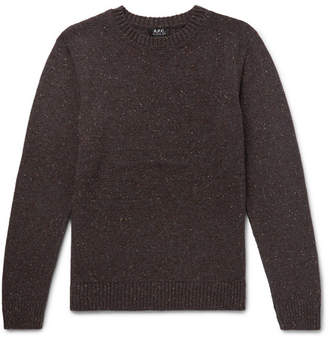 A.P.C. Rory Mélange Wool Sweater