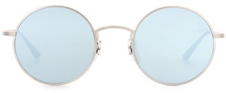x The Row After Midnight 49 round sunglasses