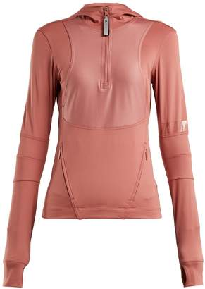 adidas by Stella McCartney Run hooded performance top